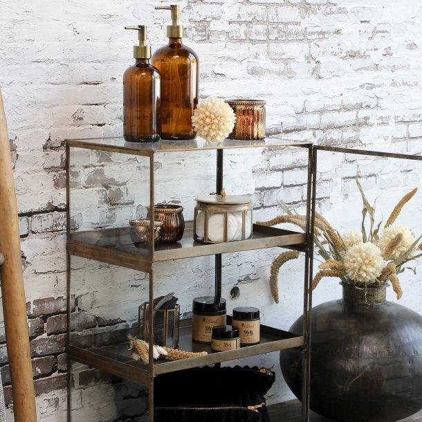 Display i glas m. 2 udtagelige bakker - Chic Antique