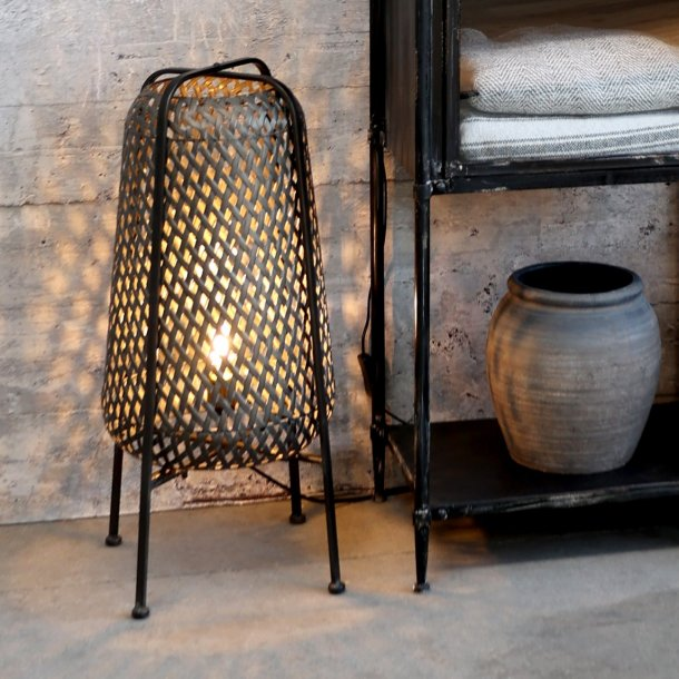 Lampe i flet H67 - Chic Antique