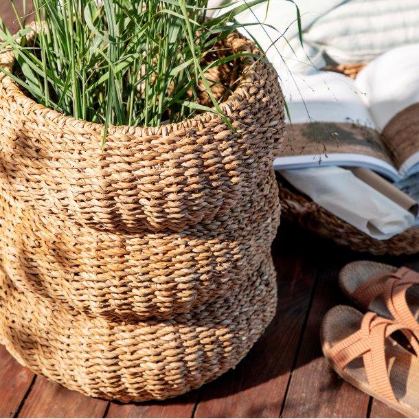 Kurv Hogla Seagrass Villum bubble H50 - Cozy Living