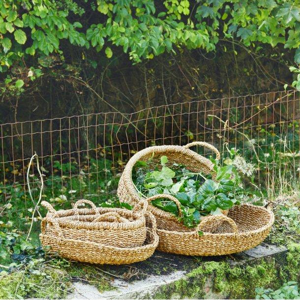 Kurv Hogla Seagrass Sara Ø40 - Cozy Living